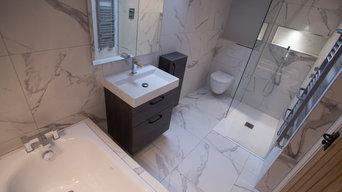 White Pietrasanta Bathroom