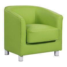 Vegas Tub Chair, Green