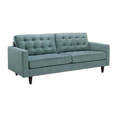 Logan Upholstered Fabric Sofa/Laguna