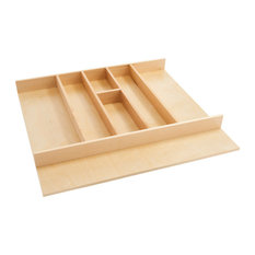 Shallow Wood Utility Tray Insert