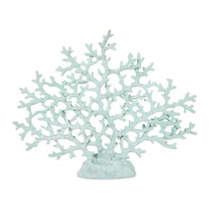 Haines Coral Statue, Teal