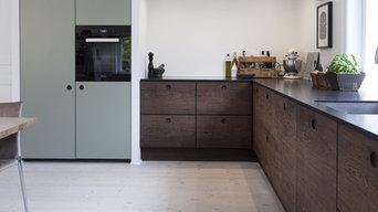 Hornbæk Køkkenet Tidsløs Betagende Køkken Indretning