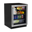 """Marvel MA24BR3R 24"""" Wide 7-Bottle and 95-Can Built-In Energy Star Rated Beverag"""