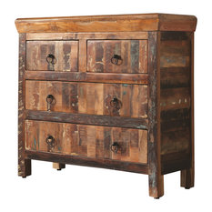 Coaster Home Furnishings - Coaster Cabinet in Reclaimed Wood Finish 950366 - Accent Chests and Cabinets