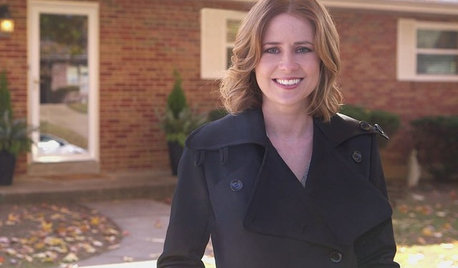 My Houzz: Watch Jenna Fischer Secretly Renovate Her Sister's Home