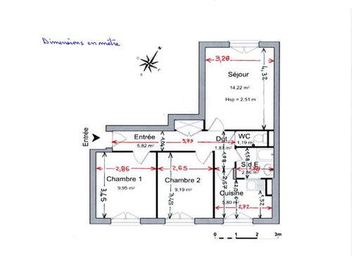 est ce une bonne ide ou vaut mieux le faire dans la plus petite chambre dimensions 265 x 345 chambre 2