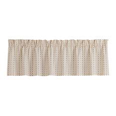Hopscotch Kitchen Curtain, Valance