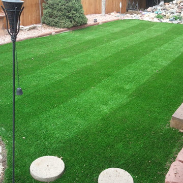 Small lawn for pets