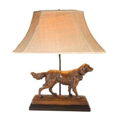 Sculpture Table Lamp TRADITIONAL Antique