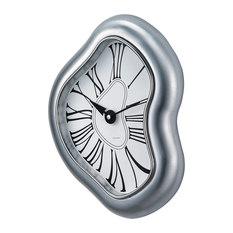 melted metal clock wall clocks