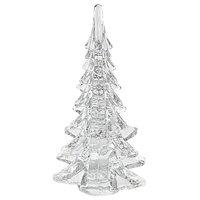 "Mouth Blown Art Glass Christmas Tree, 11"""
