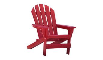 Cape Cod Adirondack Chair, Red