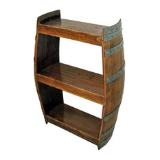 Master Garden Products Barrel Wine Shelf Handcrafted From Reclaimed 36 H X