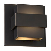 LED Indoor/Outdoor Wall Sconce, Oil Rubbed Bronze