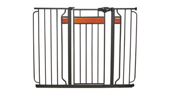 Regalo Home Accents Extra Tall Safety Gate, with Hardwood