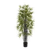 Nearly Natural 5' Black Bamboo Tree