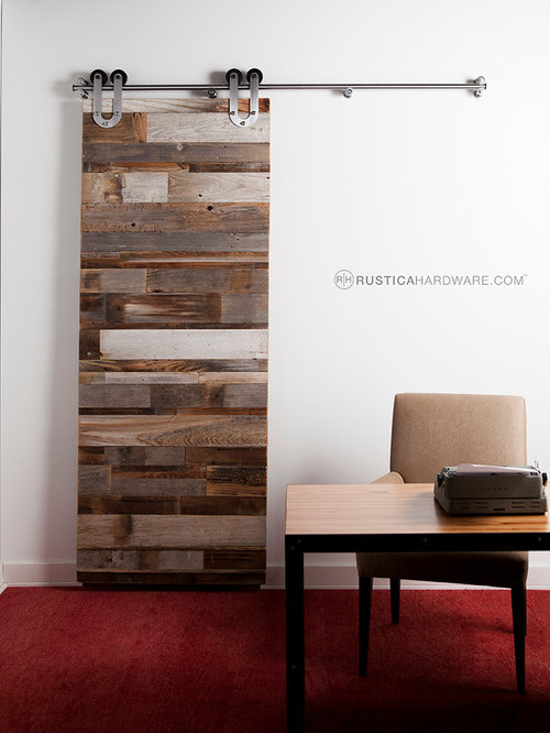 hanging barn doors houzz