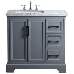 Beautiful Transitional Bathroom Vanities And Sink Consoles by Stufurhome