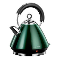 - Morphy Richards Emerald Green Accents Traditional Kettle - Kettles