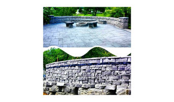 Samples of Pavers, Walls and Rosetta Wet Cast
