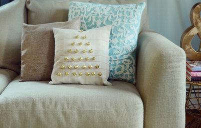 Holiday DIY: Jingle Bells for Your Sofa