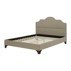 Antioch Upholstered Platform Bed, Twin