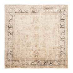 Superb Safavieh   Safavieh Newport Vintage Style Rug, Stone, 8u0027x8u0027 Square