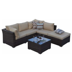 Great Tropical Outdoor Lounge Sets by Build