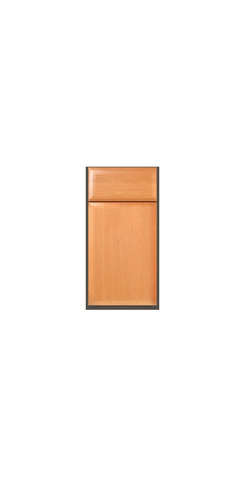 (from here //walzcraft.com/product/ledbetter-s105-cabinet-door/)  sc 1 st  Houzz & Slab doors w/beveled or pillow edge: anybody have them?