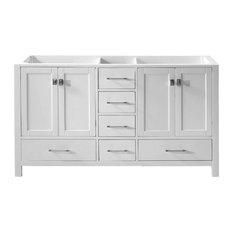 "Virtu Caroline Avenue 60"" Cabinet Only, White"