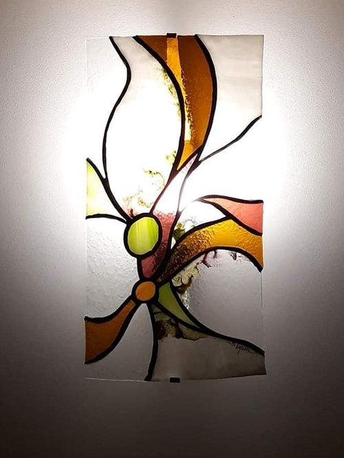Applique vitraë - Applique Murale