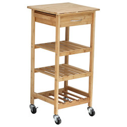 Asian Kitchen Islands And Kitchen Carts by VirVentures