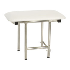 Signature Series Bench Style Shower Seat, 18 X 15