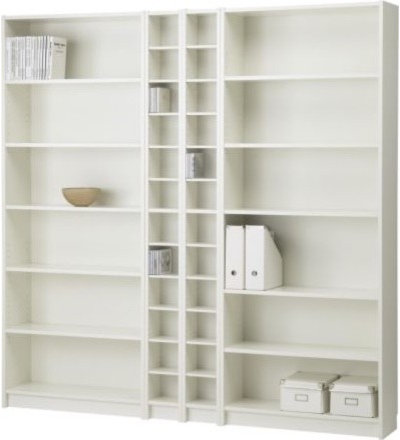 Scandinavian Bookcases by IKEA