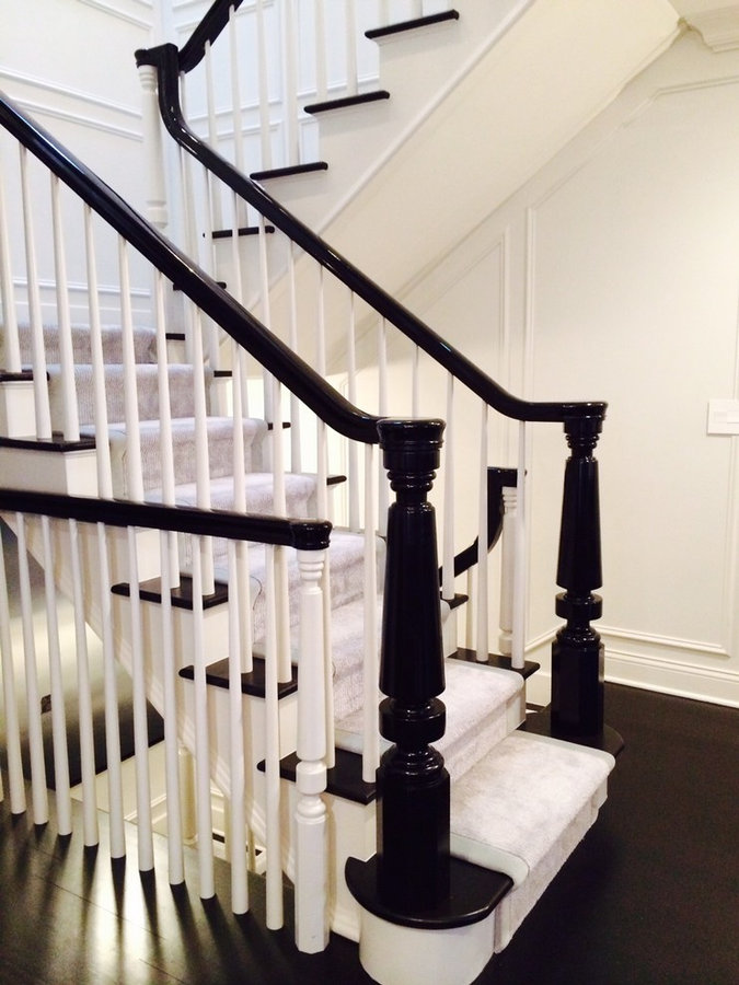 """6"""" Rocky Ledge Stair Newel Post Reproduction"""
