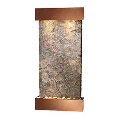Whispering Creek Water Feature by Adagio, Natural Green Slate, Woodland Brown