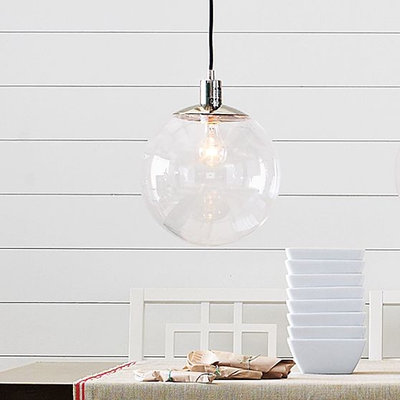 Contemporary Pendant Lighting Globe Pendant