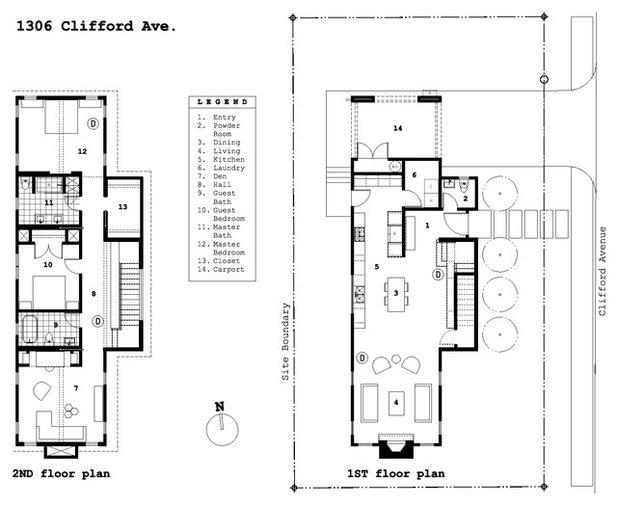 Floor Plan Houzz Tour: Constraints Guide a Farmhouse Style