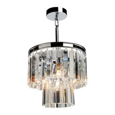 El Dorado 3-Light Chrome Chandelier
