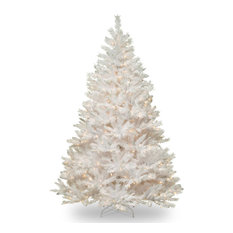national tree company winchester white pine tree with clear lights 65 ft