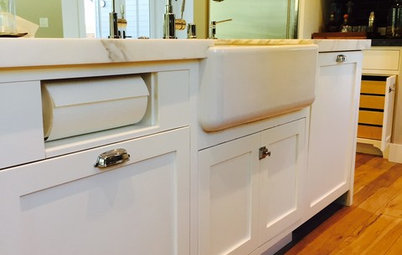 Kitchen Details: Out-of-Sight Paper Towel Holder