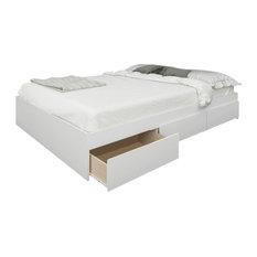 Nexera - Blvd Bedroom Collection, Full Size Bed - Platform Beds