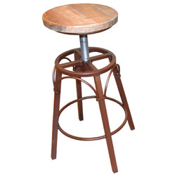 Industrial Bar Stools And Counter Stools by Crafters and Weavers