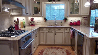 French Country small kitchen partial renovation