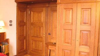 Wood Interior Design for Hotel