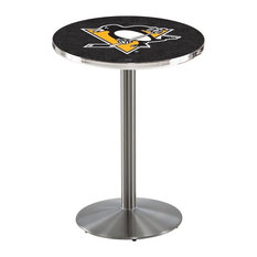 Pittsburgh Penguins Pub Table 28-inchx36-inch by Holland Bar Stool Company