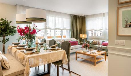 Un 'pisazo' de 120 m² de espacios amplios y decoración cálida