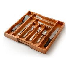 Kitchen Drawer Organizer Expandable Utensil Cutlery Organizer