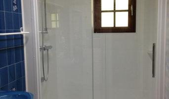 Remplacement d'une baignoire par une douche intégrale vitalo
