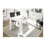 Prisma (white) dining table